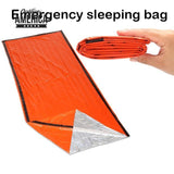 Portable Emergency foil Reusable Waterproof Rescue Space Thermal orange Bag Outdoor Camping Travel Hiking Travel Kits