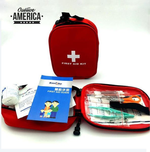 25pcs Survival First Aid Kit