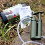 Portable Outdoor Hiking Camping Water Filter Purifier Cleaner Outdoor Survival Emergency Water Purifier Drop shipping