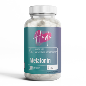 Hudu Melatonin Soundless Nights | 5mg
