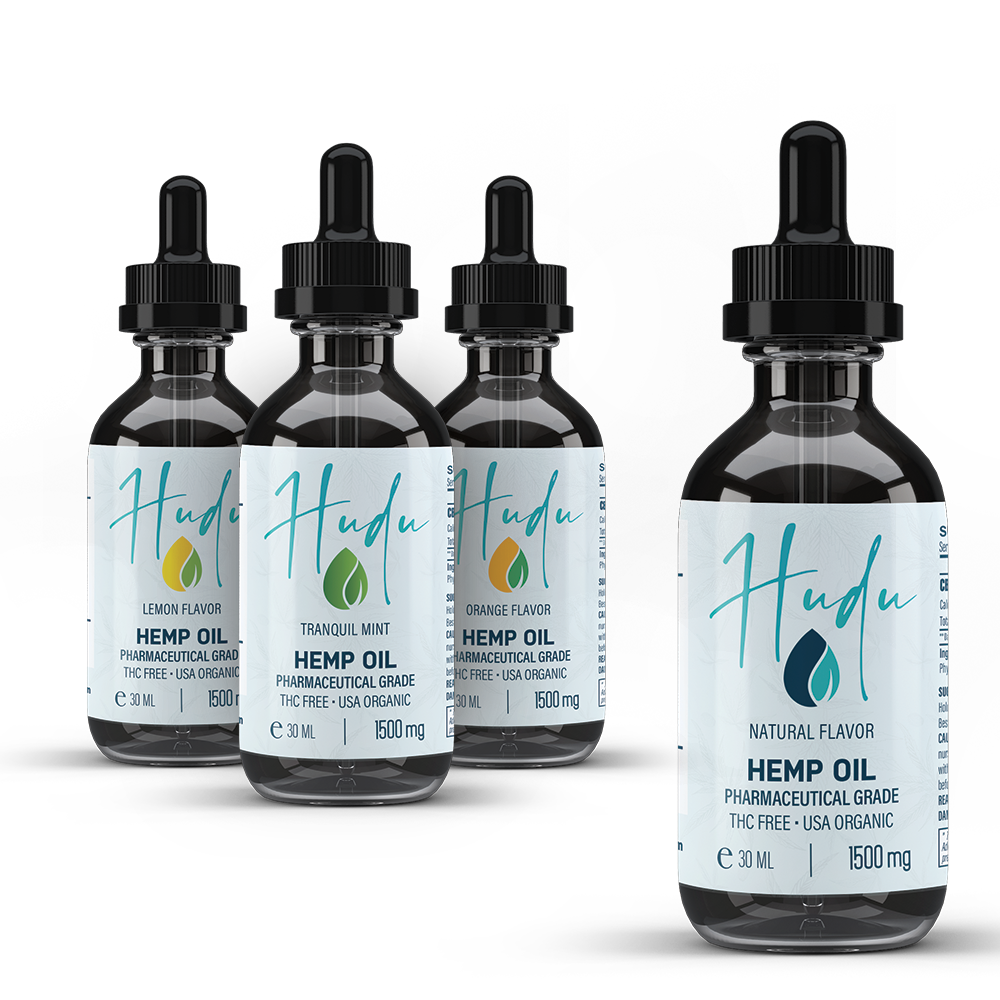 CBD Hemp Oil Tinctures | 1500mg