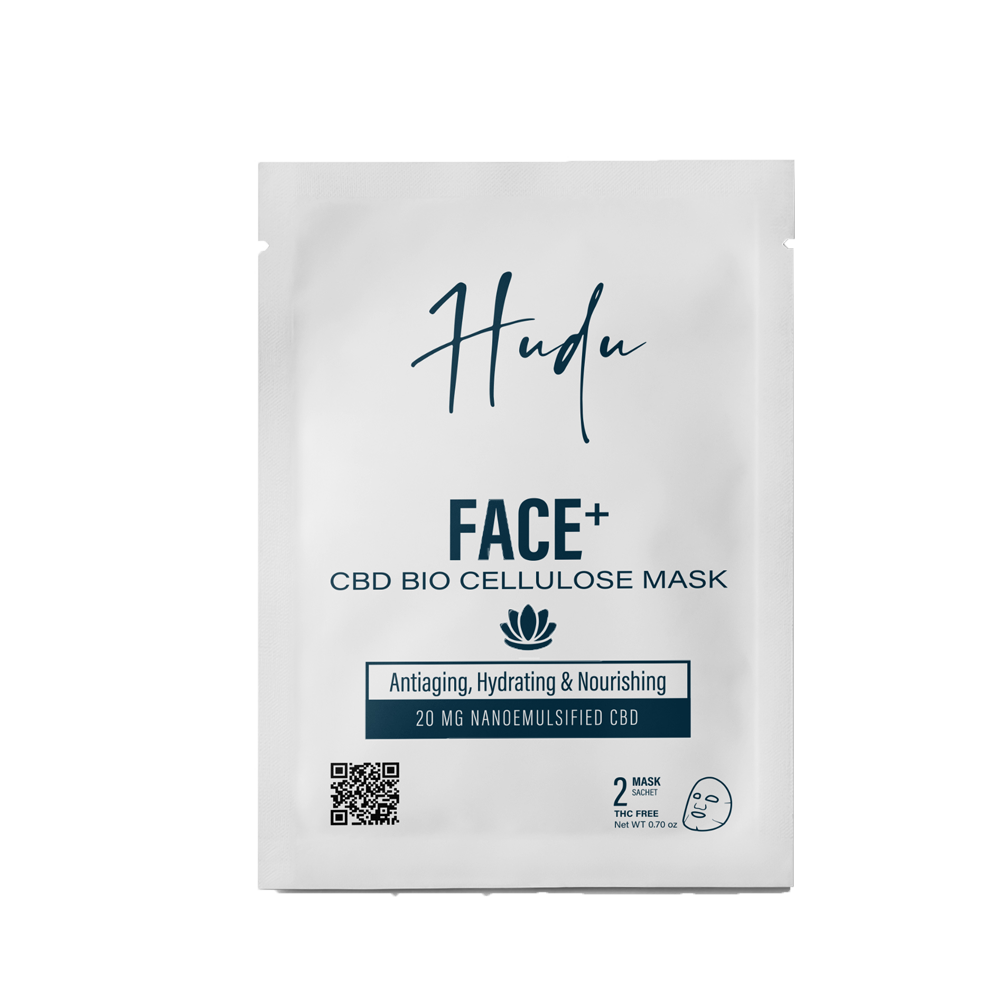 CBD Bio Cellulose Face Mask | 10mg