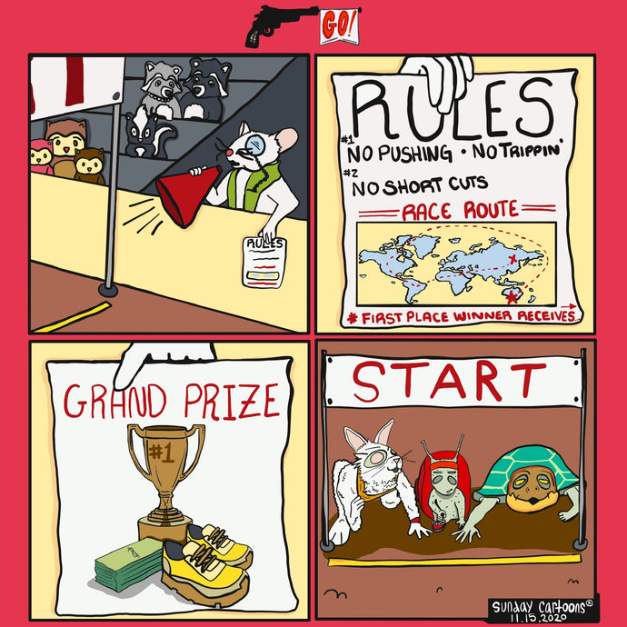 Go!: The Grand Race Begins