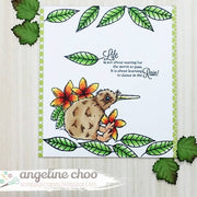 Australia Kiwi Kangaroo Koala Sentiments Country 4x6 Photopolymer Stamp Set