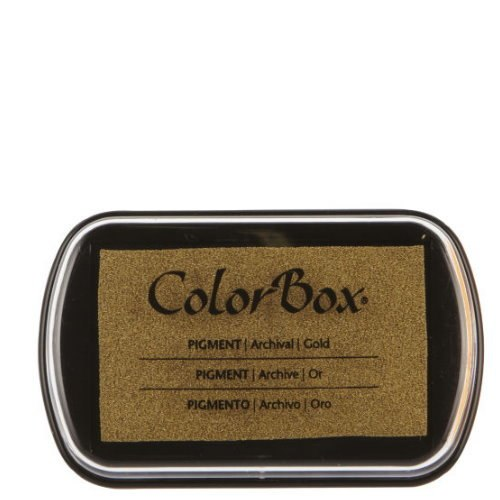 ColorBox Metallic Ink Stamp Pad { Gold, Silver, Copper, and Bronze }