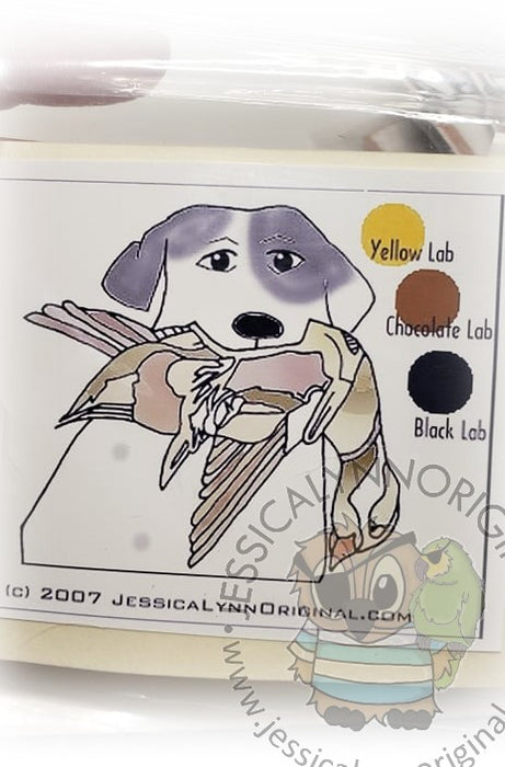 Clearance: Labrador Retriever Lab Hunting with Duck Clear Photopolymer Stamp Set