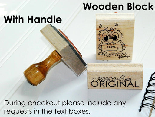 Personalized Rubber Stamp | Custom Stamps | Wedding Return Address Inspired | JLO1009