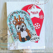 Brentwood Owl© Operation Snowball Christmas Clear Photopolymer Stamp Set
