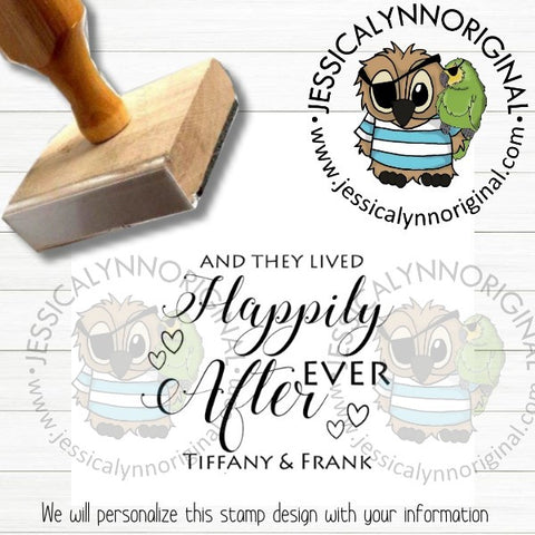 Personalized Rubber Stamp | Custom Stamps | Wedding Save The Date Favors Inspired | JLO1010