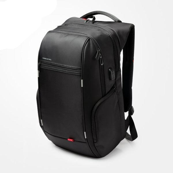 "Anti-theft Waterproof Laptop Backpack With External USB Port (13""/15""/17"")"