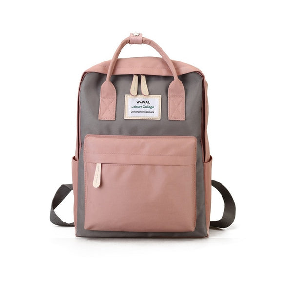 Canvas Female Fashion Backpack