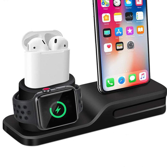 3 in 1 Charging Dock Station For Apple - Watch - Airpods