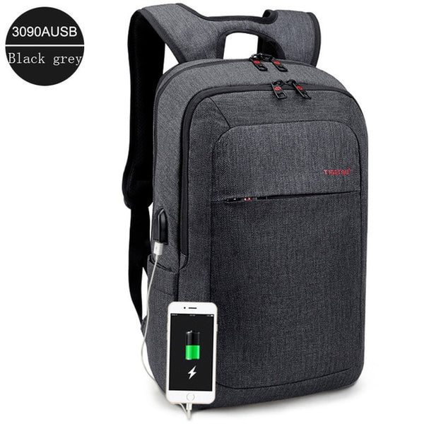 "Tigernu 15.6"" Laptop Backpack With USB Port"