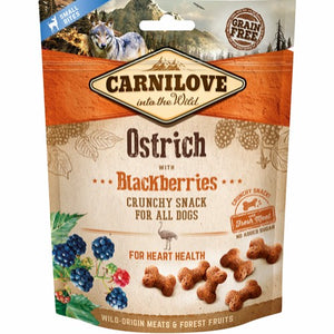 Carnilove crunchy snack Ostrich and blackberrys
