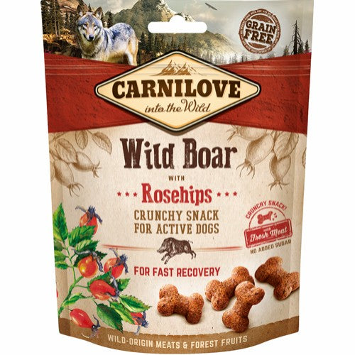 Carnilove crunchy snack Wild boar with rosehips