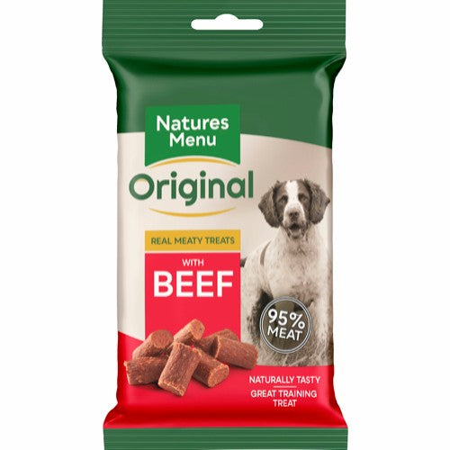 Natures Menu - Real meaty treats Beef