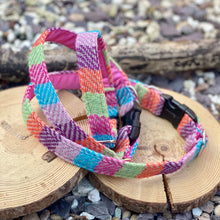 Load image into Gallery viewer, British wool Multi colour collar
