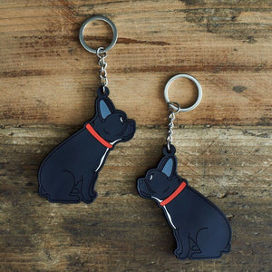 French bulldog key ring by sweet William