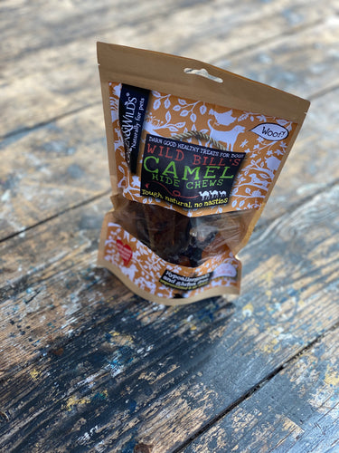"Camel ""hide"" chews from Green & Wilds"