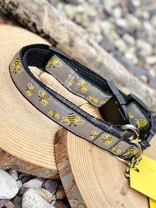Manchester Bee Company collars grey