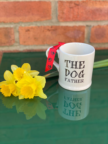 """The dog father"" mug"