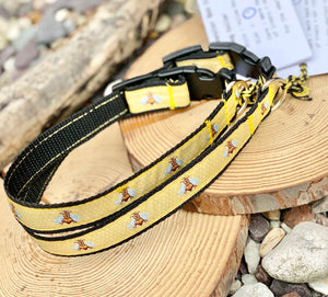 Manchester Bee Company collars yellow