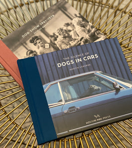 Coffee table book dogs in cars