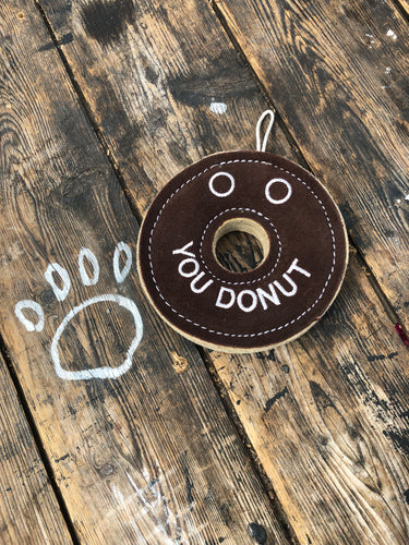 """You donut"" eco toy"