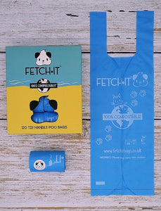 "Fetch.it poop bags ""ocean edition"""