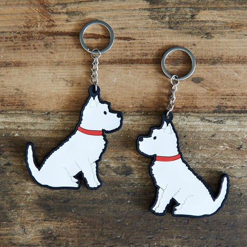 Westie key ring by sweet William