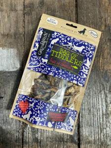 "Tasty ""tiddlers"" fish treats from Green & Wilds"