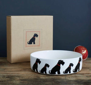 Schnauzer bowl (large - Black)