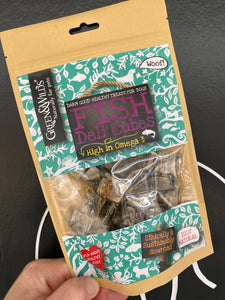 Fish deli cubes from Green & Wilds