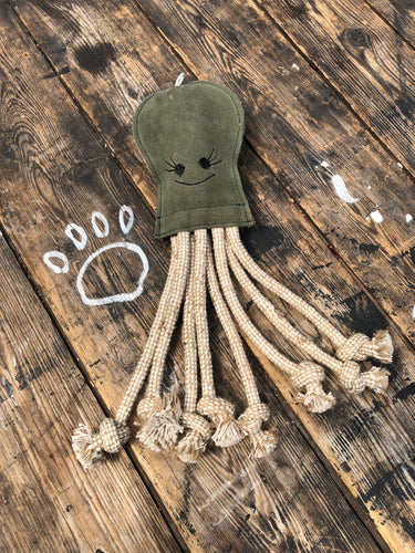 "Olive the ""eco"" octopus"