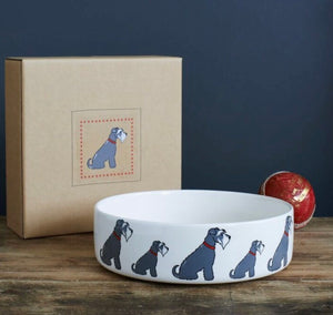 Schnauzer bowl (large - grey)