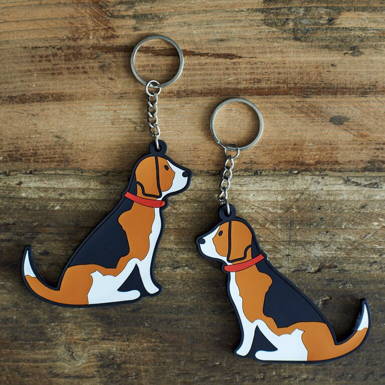 Beagle key ring by sweet William