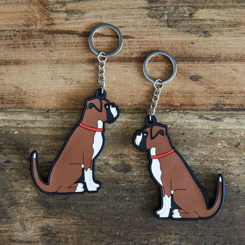 Boxer key ring by sweet William