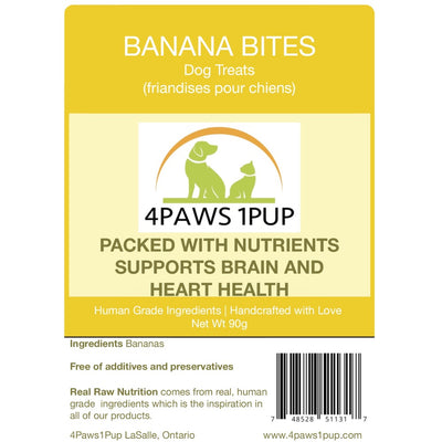 4Paws 1Pup Banana Bites Dog Treats