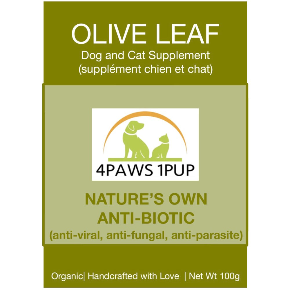 4Paws 1Pup Olive Leaf Cat and Dog Supplement