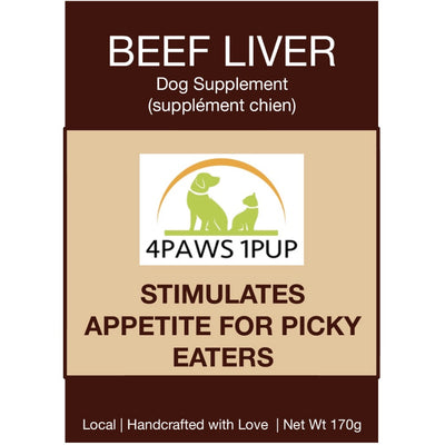 4Paws 1Pup Local Beef Liver Powder