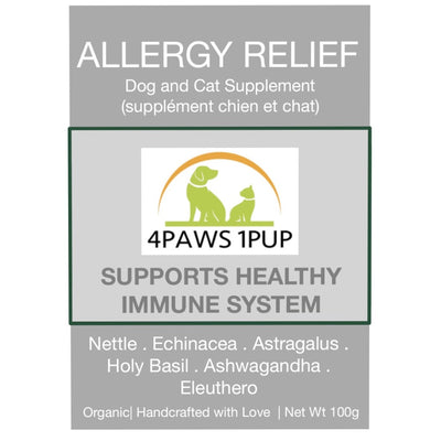 4Paws 1Pup Allergy Relief Cat and Dog Supplement