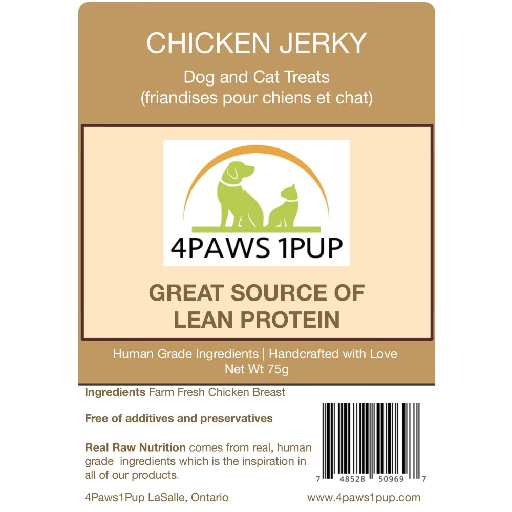 4Paws 1Pup Chicken Jerky Dog Treats