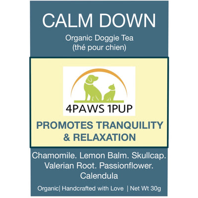 4Paws 1Pup Calm Down Doggie Tea
