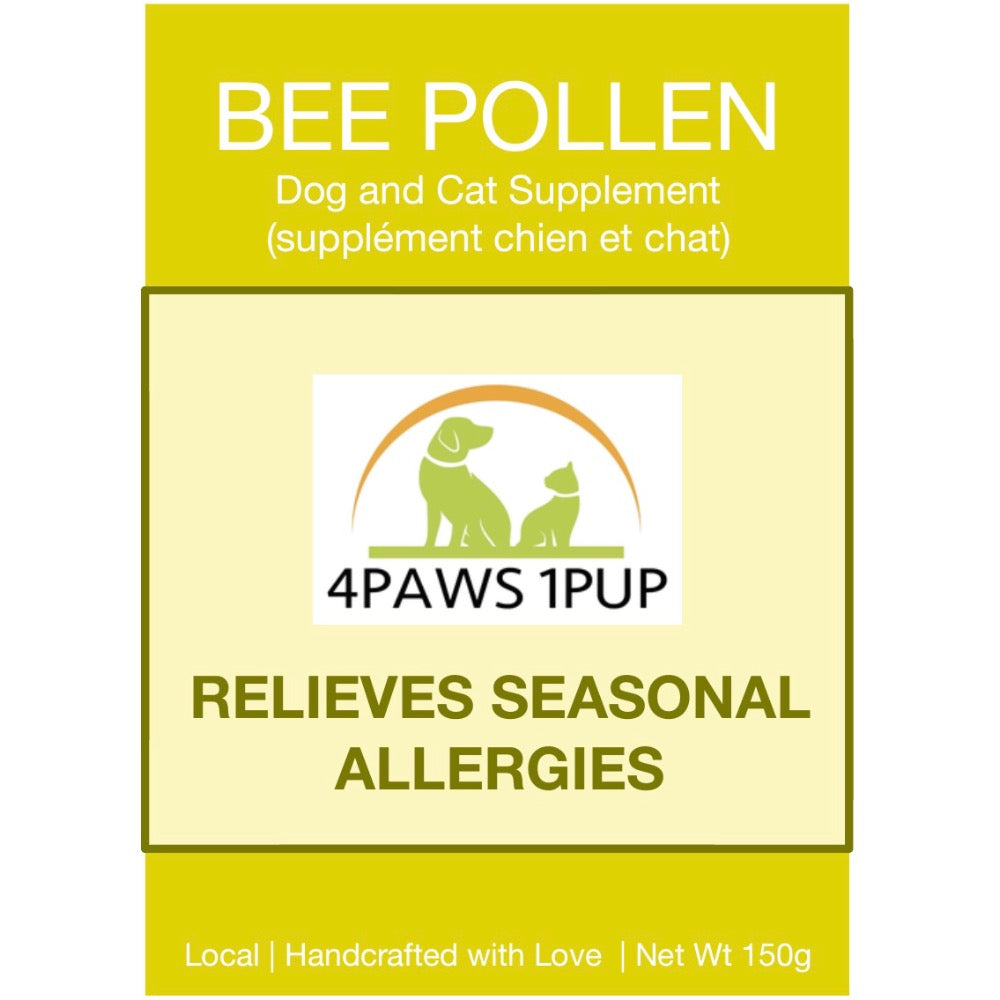 4Paws 1Pup 100% Pure Bee Pollen Powder