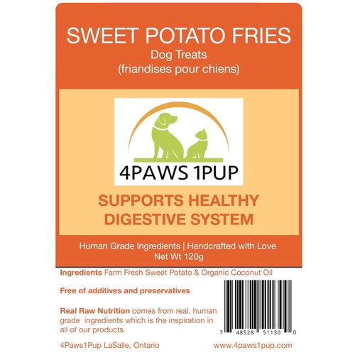 4Paws 1Pup Sweet Potato Fries Dog Treats