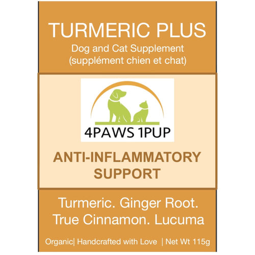4Paws 1Pup Organic Turmeric Plus | Golden Milk for Dogs
