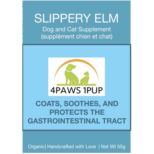 4Paws 1Pup Slippery Elm Powder Cat or Dog Supplement