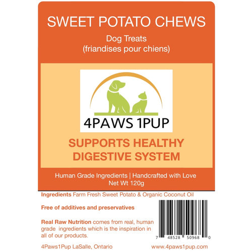 4Paws 1Pup Sweet Potato Chews Dog Treats