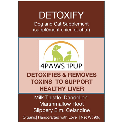 4Paws 1Pup Detoxify Cat and Dog Supplements
