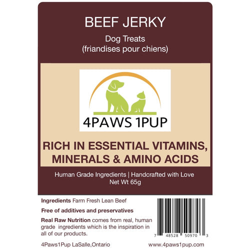 4Paws 1Pup Beef Jerky Dog Treats